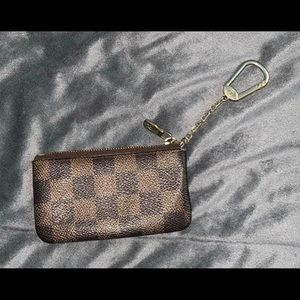 Louis Vuitton Damier Ebene key pouch!
